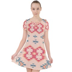 Tribal Shapes                                       Caught In A Web Dress