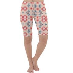 Tribal Shapes                                          Cropped Leggings
