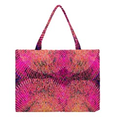 New Wild Color Blast Purple And Pink Explosion Created By Flipstylez Designs Medium Tote Bag by flipstylezdes