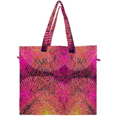 New Wild Color Blast Purple And Pink Explosion Created By Flipstylez Designs Canvas Travel Bag by flipstylezdes