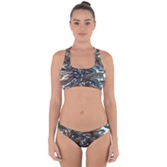 Melted Metal                                       Cross Back Hipster Bikini Set