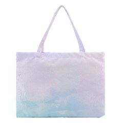 Pastel Pink And Blue Ombre Medium Tote Bag