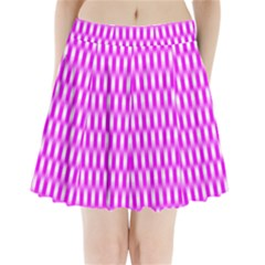 Series In Pink A Pleated Mini Skirt