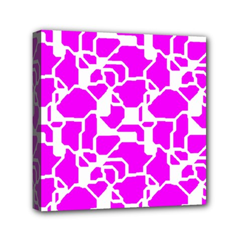 Series In Pink B Mini Canvas 6  X 6