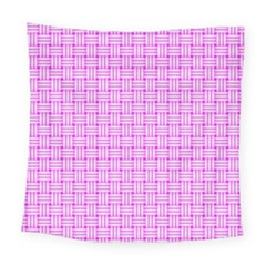 Series In Pink D Square Tapestry (large)
