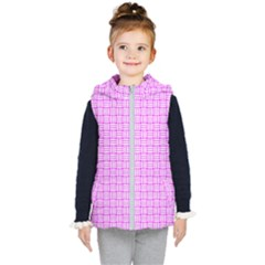 Series In Pink D Kid s Hooded Puffer Vest