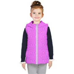 Series In Pink E Kid s Hooded Puffer Vest