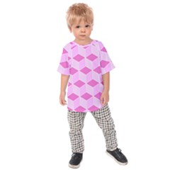 Series In Pink F Kids Raglan Tee
