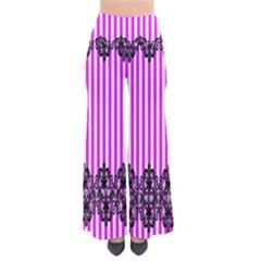 Vspinkstripeblacklace Palazzo Pants Women s Chic Palazzo Pants