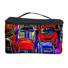 Colorful Toy Racing Cars Cosmetic Storage Case by FunnyCow