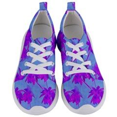 Palm Trees Caribbean Evening Women s Lightweight Sports Shoes