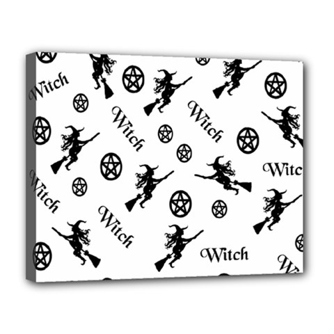 Witches And Pentacles Canvas 14  X 11
