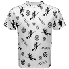 Witches And Pentacles Men s Cotton Tee by IIPhotographyAndDesigns