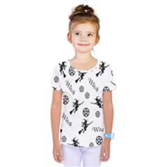 Witches And Pentacles Kids  One Piece Tee by IIPhotographyAndDesigns