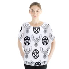 Owls And Pentacles Blouse by IIPhotographyAndDesigns