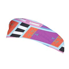 Mirrored Distorted Shapes                                    Stretchable Headband