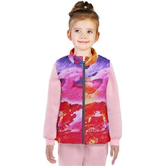 Red Purple Paint                               Kid s Puffer Vest
