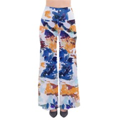 Paint On A White Background                                 Women s Chic Palazzo Pants