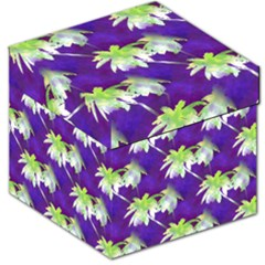 Palm Trees Hot Summer Nights Storage Stool 12