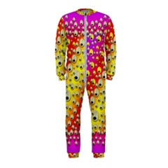 Festive Music Tribute In Rainbows Onepiece Jumpsuit (kids)