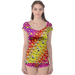 Festive Music Tribute In Rainbows Boyleg Leotard