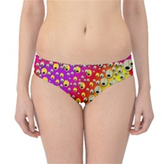 Festive Music Tribute In Rainbows Hipster Bikini Bottoms