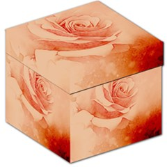 Wonderful Rose In Soft Colors Storage Stool 12   by FantasyWorld7