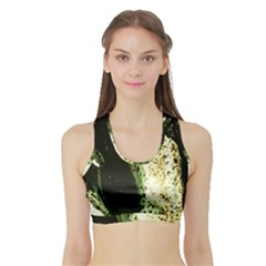 There Is No Promissed Rain 2 Sports Bra With Border