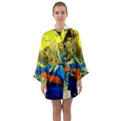 I Wonder 3 Long Sleeve Kimono Robe