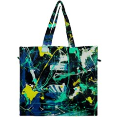 Brain Reflections 3 Canvas Travel Bag by bestdesignintheworld