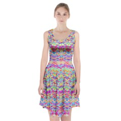 Beautiful Bright Tropical Watercolors Created By Flipstylez Designs Racerback Midi Dress