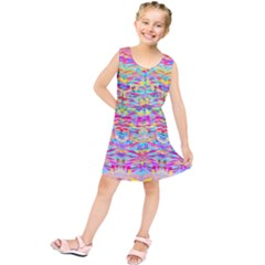 Beautiful Bright Tropical Watercolors Created By Flipstylez Designs Kids  Tunic Dress