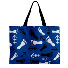 Blue #2 Medium Tote Bag