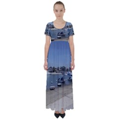 Balboa 3 High Waist Short Sleeve Maxi Dress