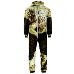 There Is No Promissed Rain 3jpg Hooded Jumpsuit (men)