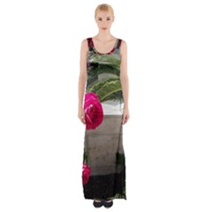 Balboa 5 Maxi Thigh Split Dress by bestdesignintheworld