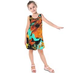 Fragrance Of Kenia 2 Kids  Sleeveless Dress