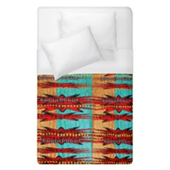 Exotic Blue Green Red And Orange Design Created By Flipstylez Designs Duvet Cover (single Size)