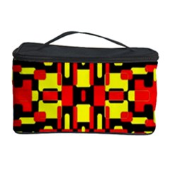 Red Black Yellow 1 Cosmetic Storage Case