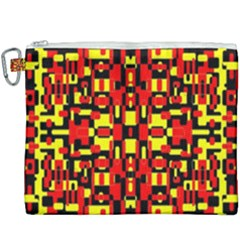 Red Black Yellow 1 Canvas Cosmetic Bag (xxxl) by ArtworkByPatrick1