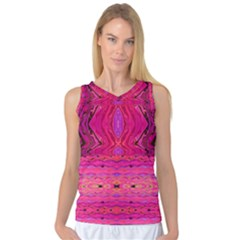 Pink And Purple And Peacock Design By Flipstylez Designs  Women s Basketball Tank Top by flipstylezdes