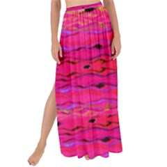 Pink And Purple And Peacock Created By Flipstylez Designs Maxi Chiffon Tie Up Sarong