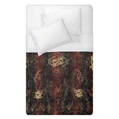 A Golden Dragon Burgundy Design Created By Flipstylez Designs Duvet Cover (single Size) by flipstylezdes
