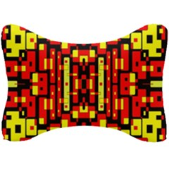 Red Black Yellow 4 Seat Head Rest Cushion