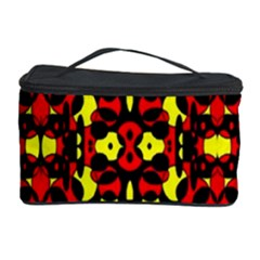 Red Black Yellow 5 Cosmetic Storage Case