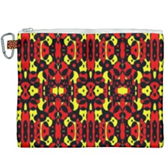 Red Black Yellow 5 Canvas Cosmetic Bag (xxxl) by ArtworkByPatrick1