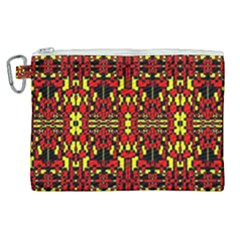 Red Black Yellow 8 Canvas Cosmetic Bag (xl) by ArtworkByPatrick1