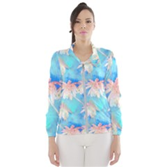 Palm Trees Summer Afternoon Windbreaker (women)