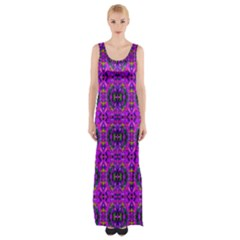 G 4 Maxi Thigh Split Dress