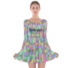 G 9 Long Sleeve Skater Dress